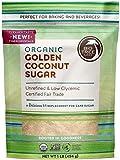 Big Tree Farms Organic Coconut Sugar, Non-GMO, Gluten Free, Vegan, Fair Trade, Natural Sweetener, Golden, 1 Pound