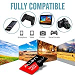ALLBYT Micro SD Card 32GB Class 10 Micro SD Card with Adapter, TF Memory Card Compatible Smartphone, Tablets, DSLR and HD Camcorder (Black/Red) 9 ALLBYT Micro SDHC Class 10 UHS-1 Up to 95MB/s & 20MB/s read & write speeds respectively. Micro SD Cards High compatibility for different types of devices including smartphones, tablets, DSLR and HD camcorder. TF Card Come with a SD card adapter that enables versatile usages for any SD enabled devices.