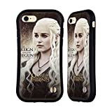 Official HBO Game Of Thrones Daenerys Targaryen Character Quotes Hybrid Case for Apple iPhone 7 / iPhone 8