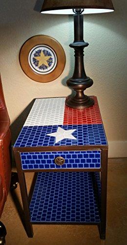 Texas Flag Table (Hexes Tiles)