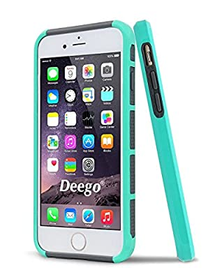 iPhone 6 Case,iPhone 6s Case,Vogue shop Hybrid High Impact Heavy Duty Dual Layer Hard PC Outer Shell with Soft Rubber Inner Armor Defender Case Cover for Apple iPhone 6 6s 4.7 inch Screen