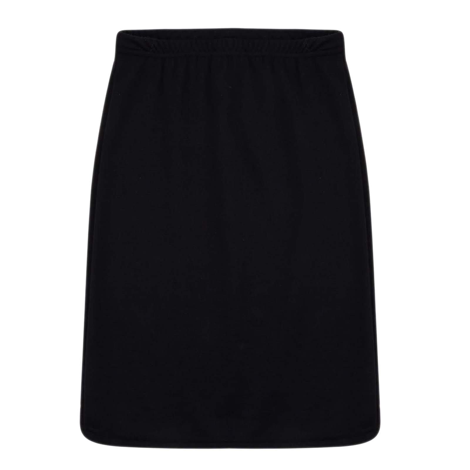 New Girls Skater Skirts School Fashion Summer Plain Skirt 5 6 7 8 9 10 11 12 13Y