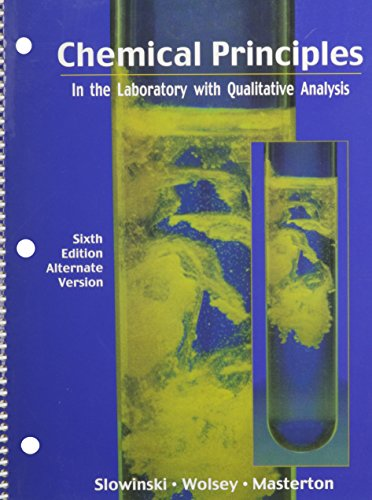 principles of chemistry lab This lab manual was provided in lab of principles of chemistry some points of the lab are given above kinetics lab - principles of chemistry - lab experiment manual - docsity.