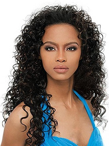 OUTRE Synthetic Hair Half Wig Quick Weave Amber 2 by Outre (Amber Wig)
