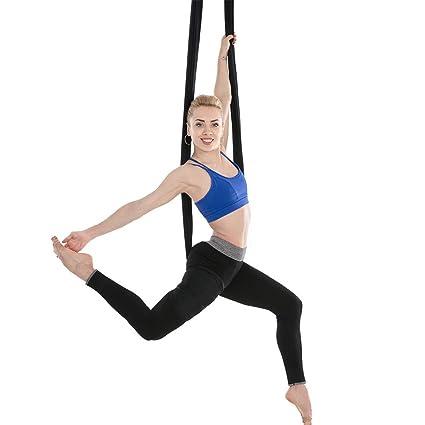 c0f6b99ee Amazon.com   Premium Yoga DIY Aerial Silks Equipment Aerial Yoga ...