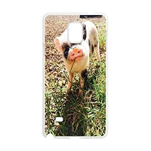 New Fashion Hard Back Cover Case for Samsung Galaxy Note 4 with New Printed pig
