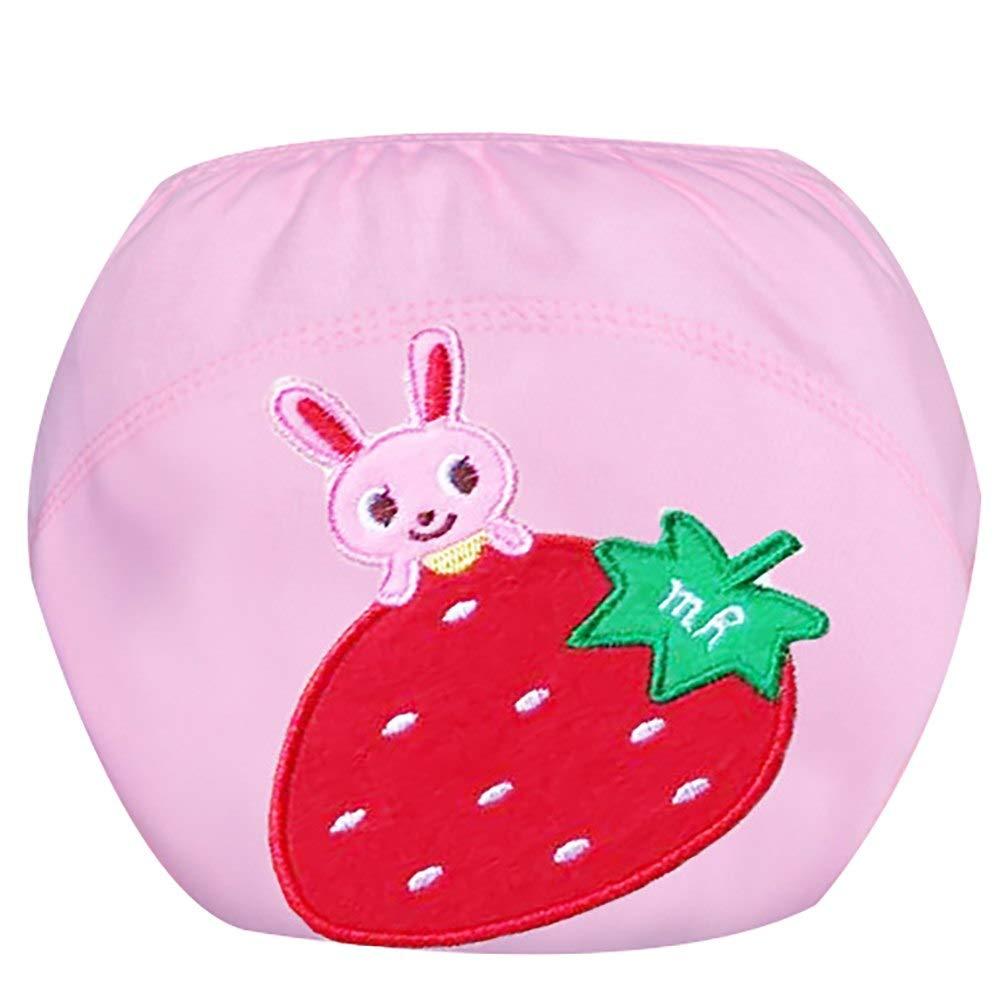 Infant Baby Girls Boys Reusable Toilet Training Pants Toddlers Waterproof Cloth Diaper Cartoon Nappy Underwear Set