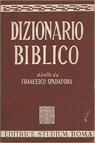 dizionario biblico da