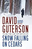 Front cover for the book Snow Falling on Cedars by David Guterson