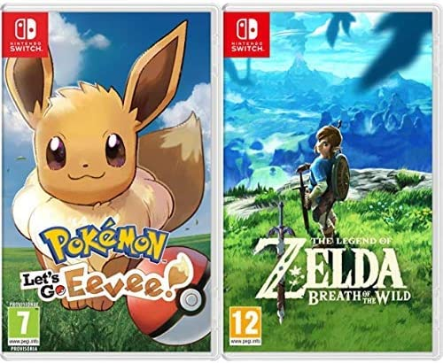 Pokémon: Lets Go, Eevee! & The Legend Of Zelda: Breath Of The ...