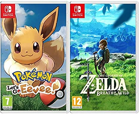 Pokémon: Lets Go, Eevee! & The Legend Of Zelda: Breath Of The Wild: Amazon.es: Videojuegos
