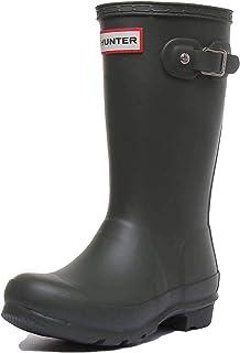 Kids Hunter Kids First Mate Unisex Toddler Navy Rubber Outdoors Rain Boots