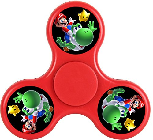 THinL Fidget Spinner Mario High Speed Bearing the Best Hand Spinner Toy Quiet Fast and Balanced for ADHD Autism Anxiety Boredom Focus Stress (Best Halloween Jokes Of 2017)