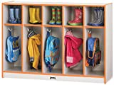 Rainbow Accents 2684JCWW003 Toddler 5 Section Coat Locker, Blue