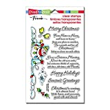 Stampendous Unmounted Clear Stamps, Snowman Wishes