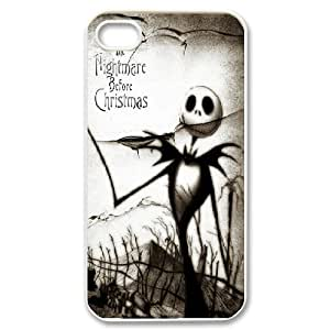 [The Nightmare Before Christmas] the Nightmare Before Christmas Movie Poster For Apple Iphone 5C Case Cover Girl for Teen Girls {White}