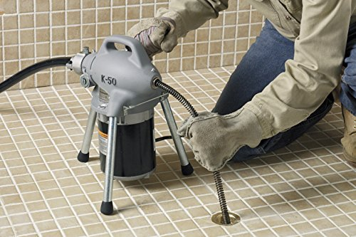 RIDGID 58920 K-50 Sectional Machine, Sectional Drain Cleaning Machine (Sectional Cable Sold Separately – Machine Only No Accessories) by Ridgid (Image #4)