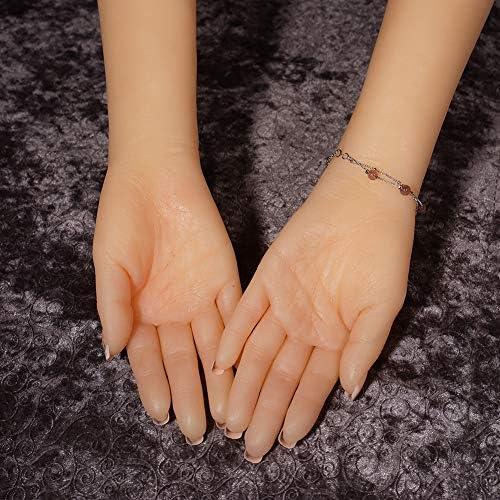 Modelo de la mano del maniquí de silicona brazo falso para la ...