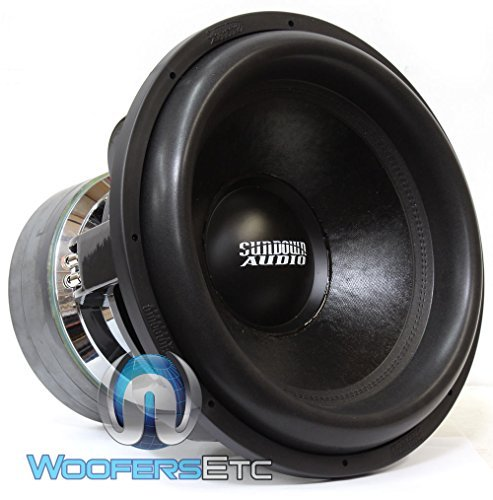 "Team 18 D1.4 - Sundown Audio 18"" 5000 Watt RMS Dual 1.4-Ohm Team Series Subwoofer"
