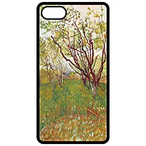 Cherry Tree By Van Gogh Painting By Vincent Van Gogh Black Apple Iphone 6 (4.7 Inch) Cell Phone Case - Cover wangjiang maoyi