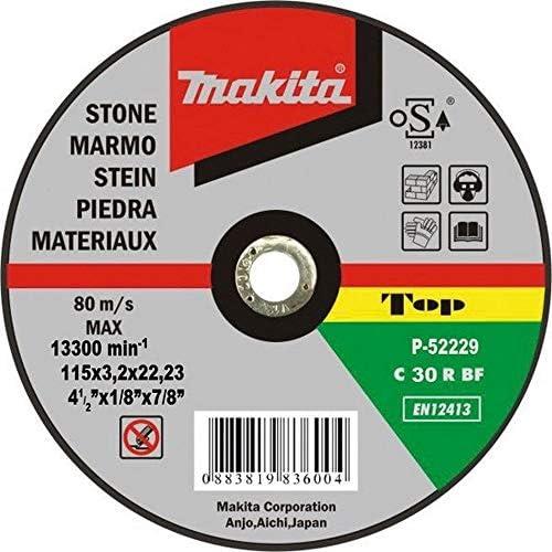 Makita p-52940–Trennscheiben für Stein 125mm x 3.2mm