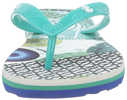 Desigual Shoes_flip Flop 7 Damen Geschlossene Ballerinas Türkis (5024 TURQUESA PALO)