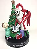 The Nightmare Before Christmas Santa Jack Figurine Scene with Christmas Tree
