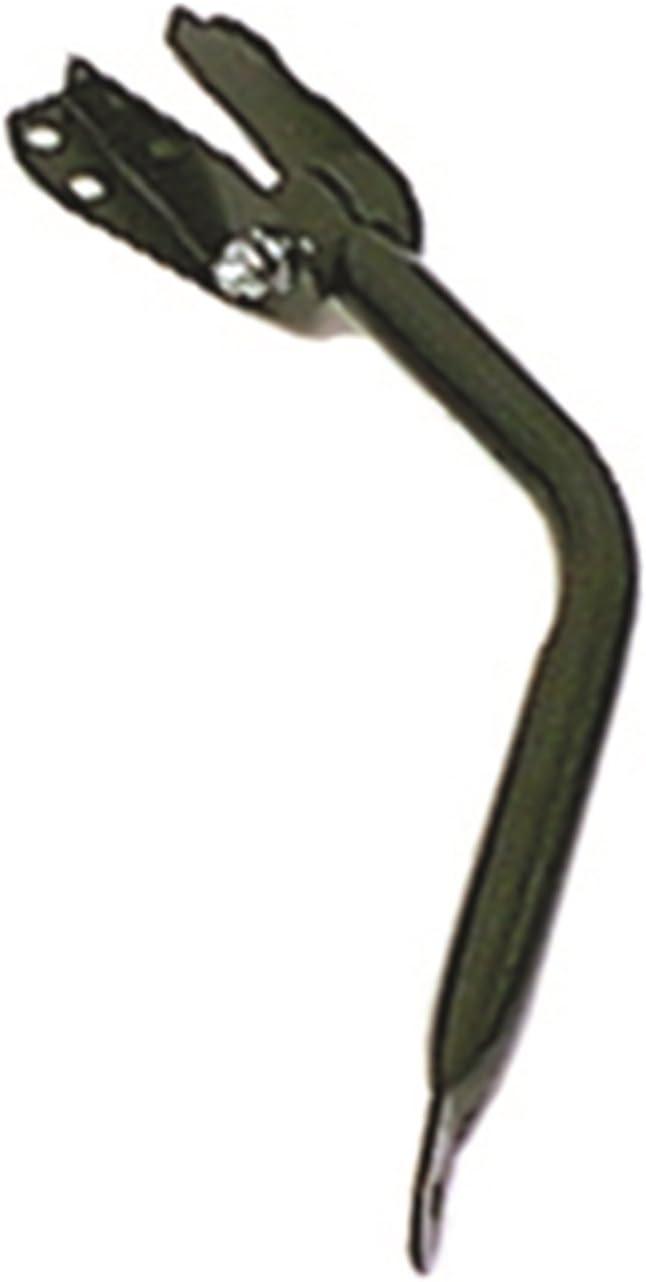 Rugged Ridge 11003.02 Black Passenger Side View Mirror Arm and Bracket Omix-Ada