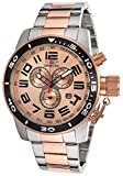 "Invicta Men's Two-tone Steel Bracelet Rose-tone Dial ""Corduba Chronograph"""