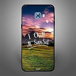 Samsung Galaxy C5 I chill at Sunset