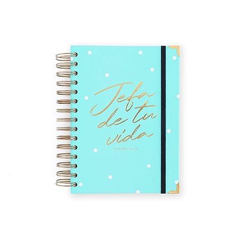 Amazon.com : 19-20 Daily Diary Head Mint. Medium : Office ...