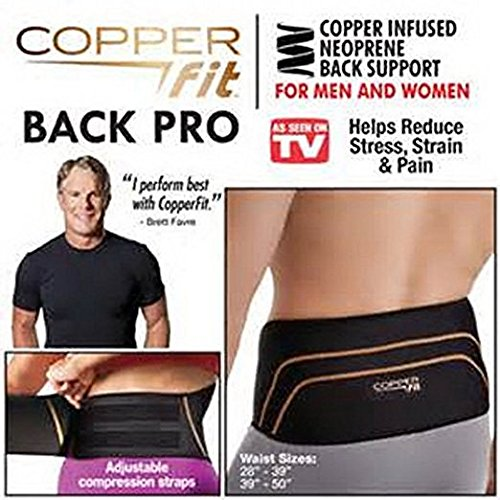 Copper Fit Back Pro Compression Belt Lower Back (Lumbar) Support – DiZiSports Store