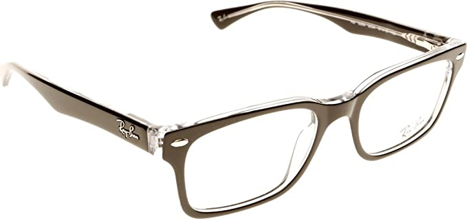 7884b1a99a5 Ray-Ban RX5286 RB5286 2034 53-18 Black Medium  Amazon.co.uk  Clothing