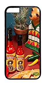 Bandito Hot Sauce PC Case Cover for iphone 6 Plus 5.5inch - Black