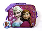 Disney Frozen Princess Elsa and Anna Lunch Bag Tote