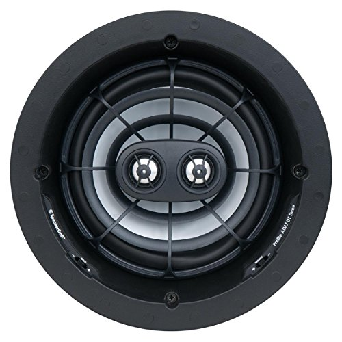 "SpeakerCraft AIM7 DT Three 7"" In-Ceiling Speaker (Each) Black ASM57603"