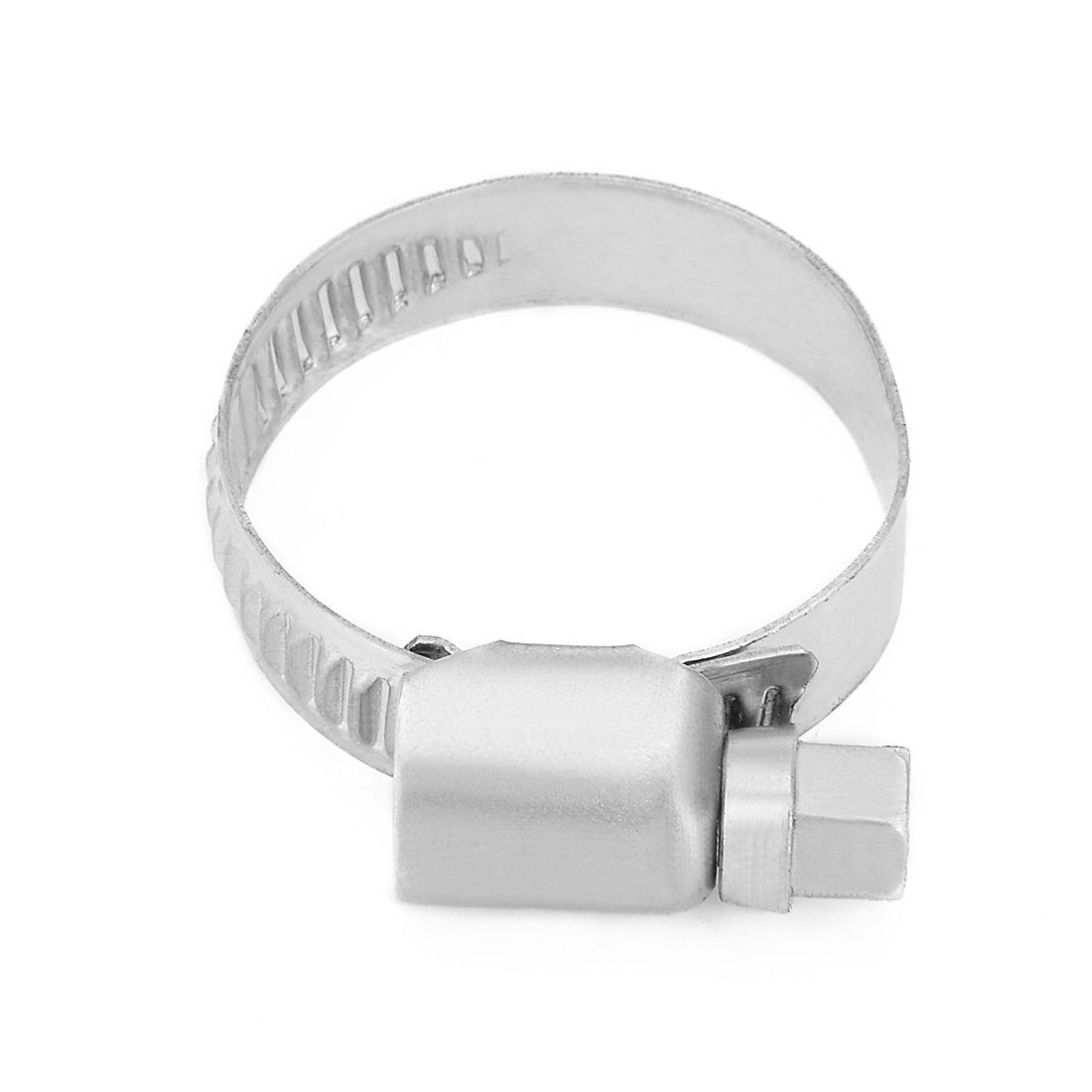 uxcell 59mm to 82mm Dia Range 304 Stainless Steel German Type Hose Clamp Hoop 10pcs