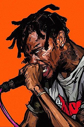 TST INNOPRINT CO Travis Scott Rap Hip Hop Poster 13x19