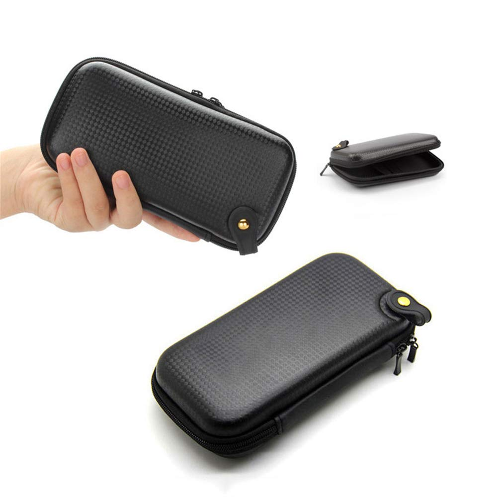 Zhao Xiemao Small and Compact Protective Storage Case for Mp3 Players & Earphones (Compact Protective Storage Case, Black).