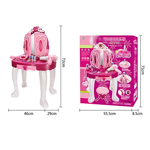 super popular a259a 00c9d Byx- Toys - Girls Play House Toys Large Beautiful Dressing Table - Baby  Toys Over 3-4-5 Years Old - 72x46x29cm - Toys
