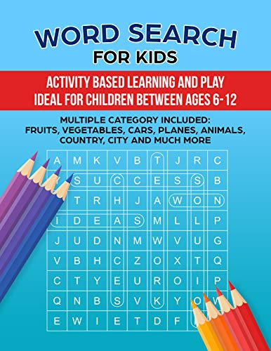 Pdf Entertainment Word Search for Kids (01 Book 1)