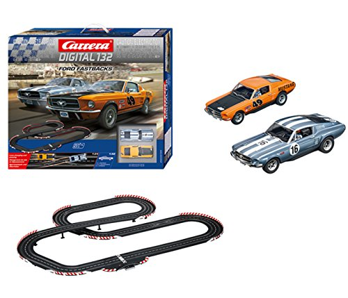 Carrera 30194 Digital 132 Ford Fastbacks Slot Car Racing for sale  Delivered anywhere in USA