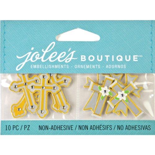 Jolee's Boutique Scrapbooking Embellishments, Mini - Cross Boutique Jolees