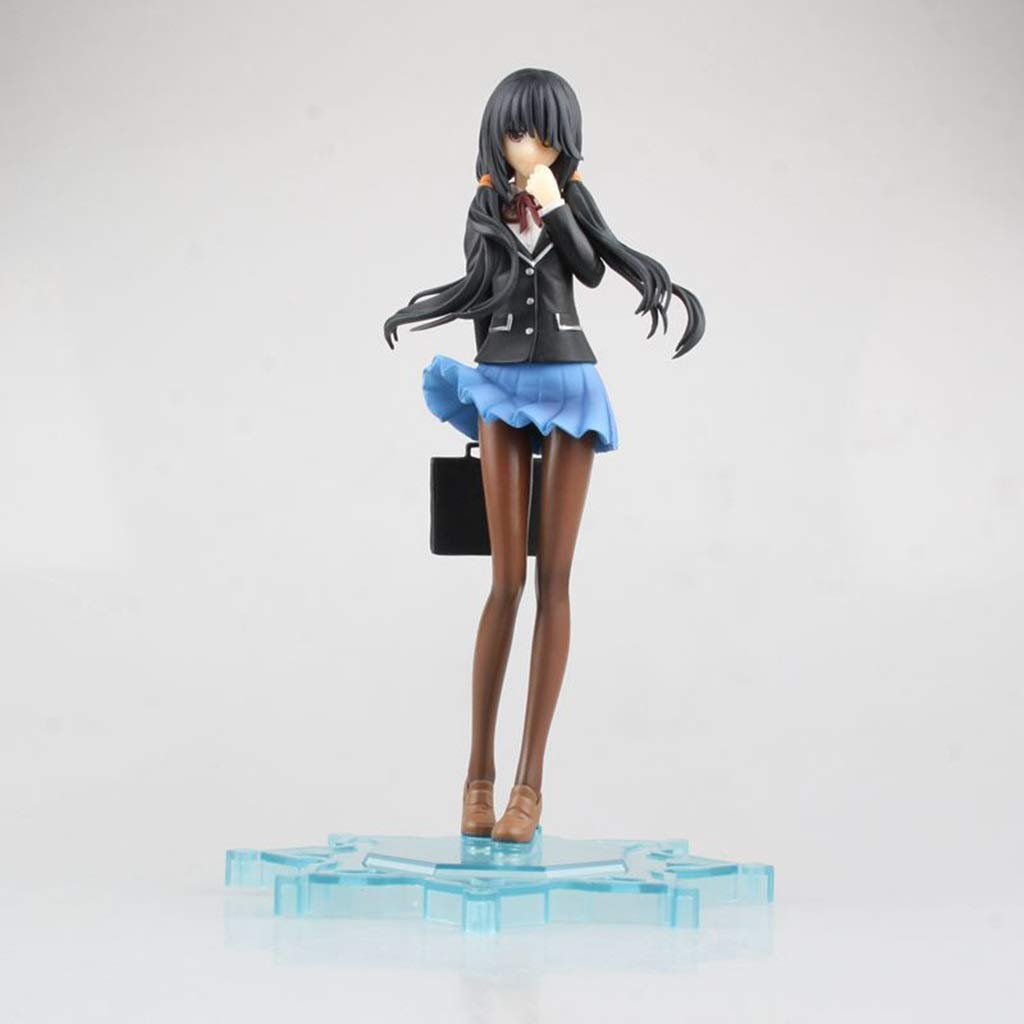 WXFO Anime model Anime Teenage Girl Model Character Sculpture Gift Plastic Exquisite Decoration