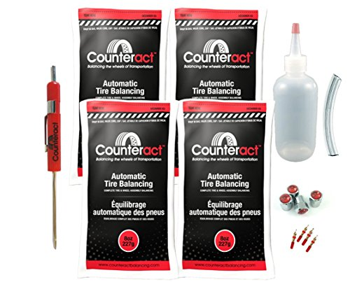 DIYK-8 Counteract Tire Balancing Beads Light Truck/Off-Road - 8oz DIY Kit (32oz)