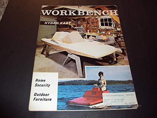 Work Bench Mar-Apr 1970 Outdoor Furniture, Hydro Cart (Del Mar Furniture)