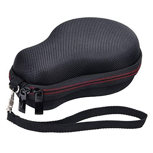 SUNMNS Hard Case Protective Cover Bag for JBL Clip 2 Waterproof Portable Bluetooth Speaker, Black