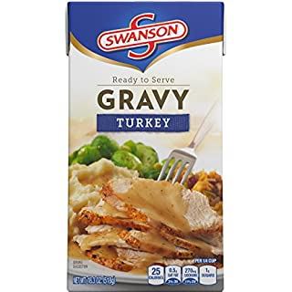 Swanson Gravy, Turkey, 18.3 Ounce (Pack of 8)