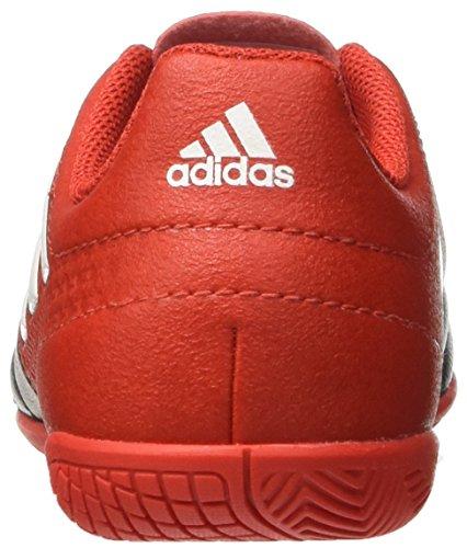 adidas Ace 17.4 In J, Botas de Fútbol para Niños Rojo (Red)