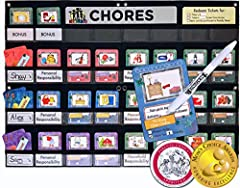 Includes simple chores for young ones & more challenging chores for older children. Step 1:CHOOSE CHORE CHART CONFIGURATION Step 2:CONFIGURE YOUR CHORE CHART- connect the chart panels, add title cards & labels. Step 3:IMPLEMENTING 1.I...
